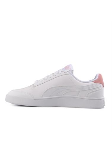 Puma Unisex Beyaz Shuffle Sneakers 30966802015 Beyaz